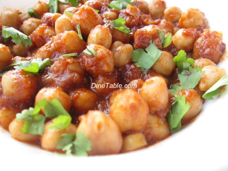 Chana Masala – Vella Kadala Curry – Chickpea Curry
