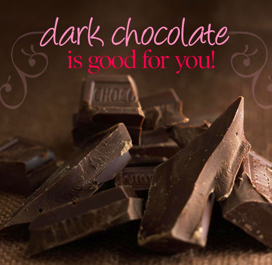 Dark chocolate 'good for the heart' study suggests ...