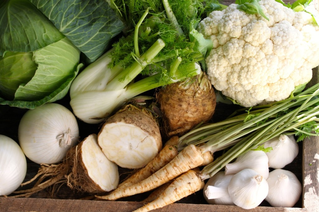 Myth: White vegetables lack nutritional value