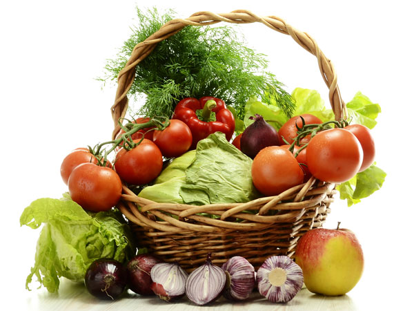 Raw Vegetables - Foods and Natural Remedies For Healthy Hair Growth