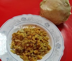 Cabbage Egg Burji
