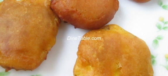 Fried Pineapple Fritters - Pineapple Bajji Recipe