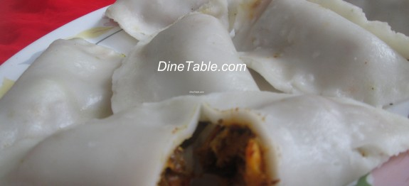 Steamed Chicken Ada – ചിക്കൻ അട – Chicken Dumplings Recipe
