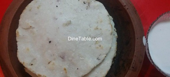 Traditional Kai Pathiri in Clay Pot - ചട്ടി കൈ പത്തിരി Recipe