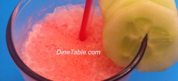 Cucumber Roohafza Milkshake Recipe