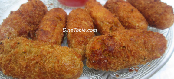 Fried Chicken Kabab Recipe