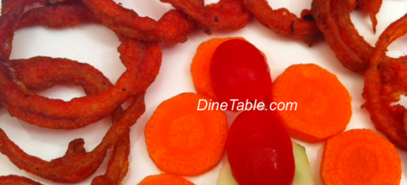 Fried Onion Rings – Kerala Snacks Recipe