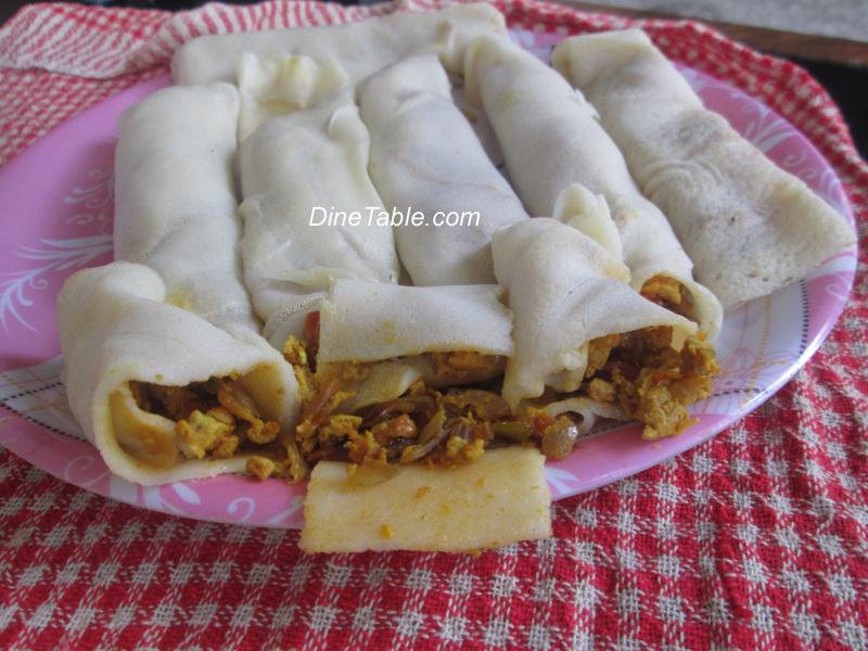 Omana Pathiri ഓമന പത്തിരി Malabar Snack Recipes