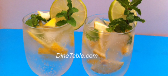 Sparkling 7up Drink with Mint & Lime – Quick & Easy Refreshing Drink