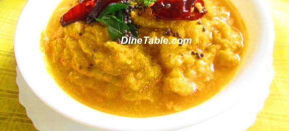 Mathanga Erissery Onam Sadhya Recipe