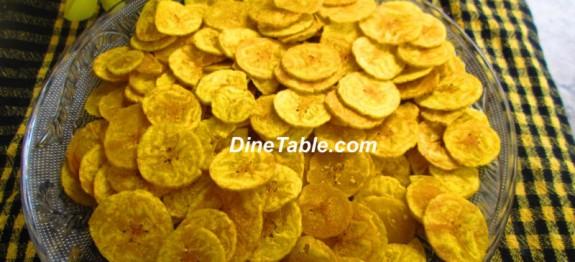 Raw Banana Chips