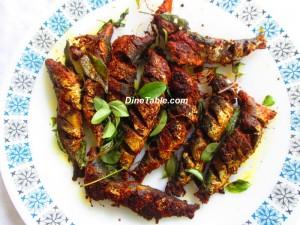 Mathi Varuthathu or Sadine Fry