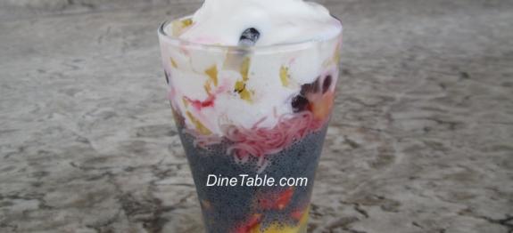 Fruit Falooda / Faluda Recipe