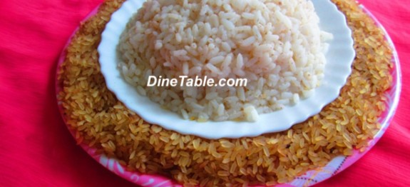 Kerala rice in pressure cooker | Parboiled rice in pressure cooker