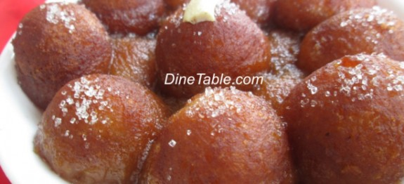 Gulab Jamun Sweet Recipe