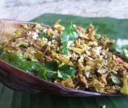 Vaazha koombu Thoran | Banana Flower Stir Fry