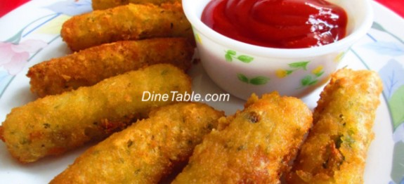 Vegetable Fingers.