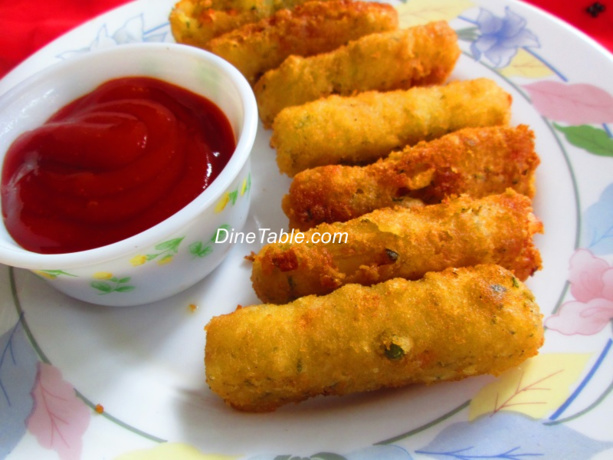 Gold Fingers Food Fried Indian