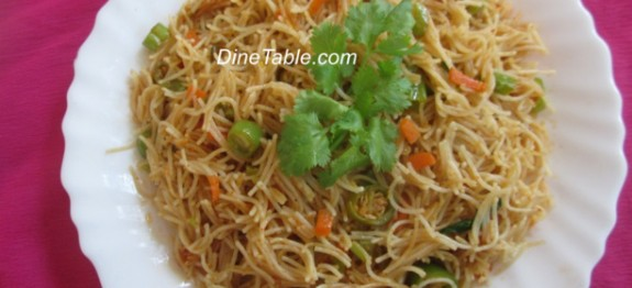 Vermicelli Upma Recipe - Tasty Dish