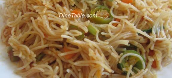Vermicelli Upma Recipe - Quick Dish
