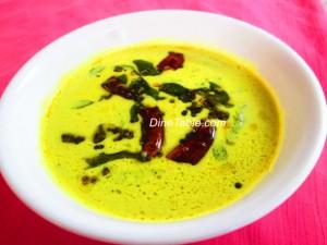 Vendakka Paal Curry recipe or Lady Finger recipe