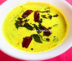 Vendakka Paal Curry or Lady Finger Recipe