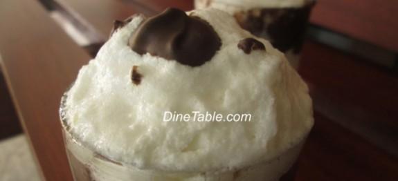 Chocolate and Vanilla Dessert recipe