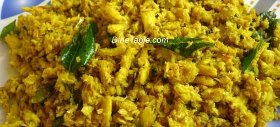 Netholi peera pattichathu recipe | Anchovy recipe | കൊഴുവ പീര പറ്റിച്ചത് recipe