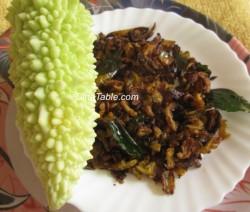 Pavakka fry recipe | Bitter Gourd fry - കയ്പ്പക്ക recipe