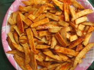 Tapioca Chips recipe | Kappa Chips ( കൊള്ളി വറുത്തത് ) recipe