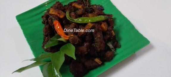 Kerala Beef fry recipe | Beef ularthiyathu | നാടൻ ബീഫ് ഫ്രൈ recipe