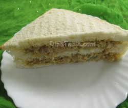 Chicken sandwich recipe | Indian sandwich recipe