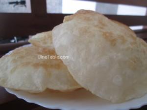 Battura recipe | Fried puffed bread recipe | Easy breakfast recipe