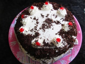 Black forest cake recipe | Christmas cake recipe