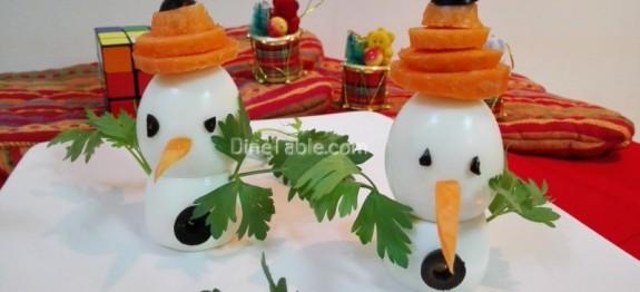 Snowman Salad
