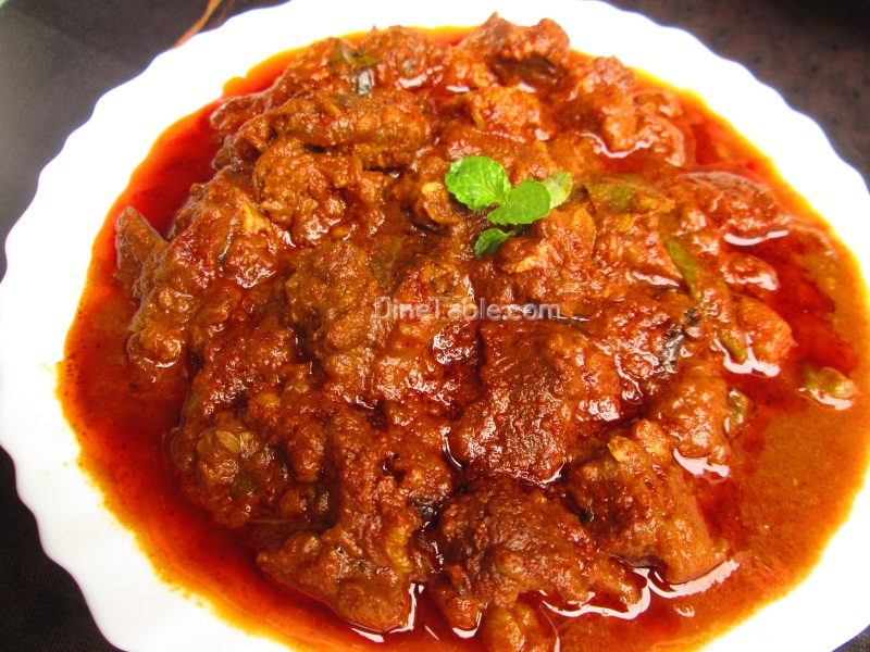 Vindaloo – Beef vindaloo recipe | Spicy curry recipe