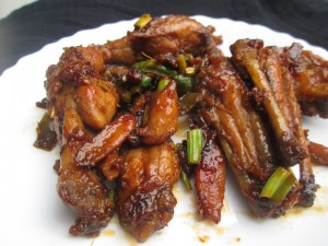 how to make salt and spicy chicken wings