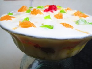 Trifle pudding recipe | Easy pudding recipe