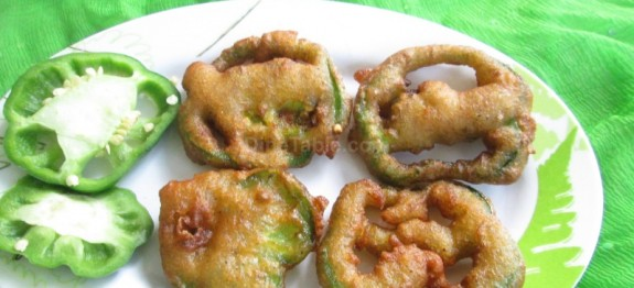 Crispy Fried Capsicum