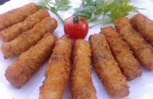 Fish fingers recipe | Homemade snacks recipe