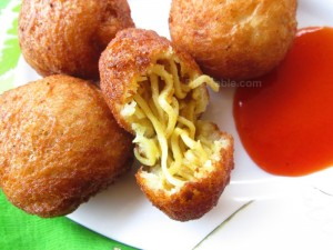Maggi noodle balls recipe | Quick and easy recipe