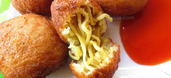 Maggi noodle balls recipe   Quick and easy recipe
