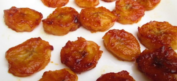 Pan fried honey bananas recipe | Banana with honey recipe