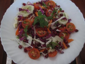 Purple cabbage salad recipe | Quick and easy salad recipe
