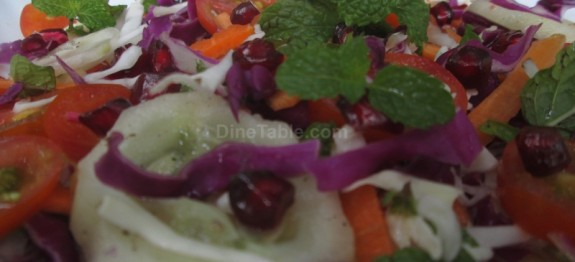 Purple cabbage salad recipe