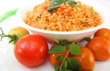 Tomato rice recipe | Quick and easy vegetarian recipe | തക്കാളി ചോറ് recipe