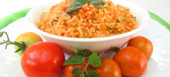 Tomato rice recipe