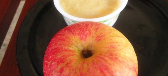 Healthy food recipe for babies   Apple Puree recipe