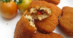 Homemade cheese chicken nuggets recipe