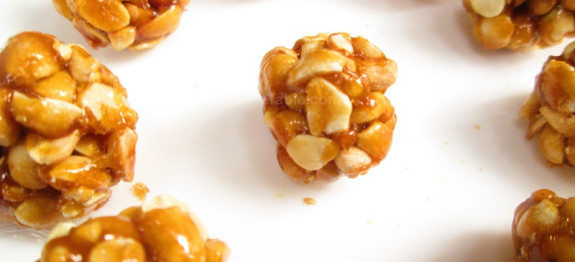 Sweet peanut balls recipe